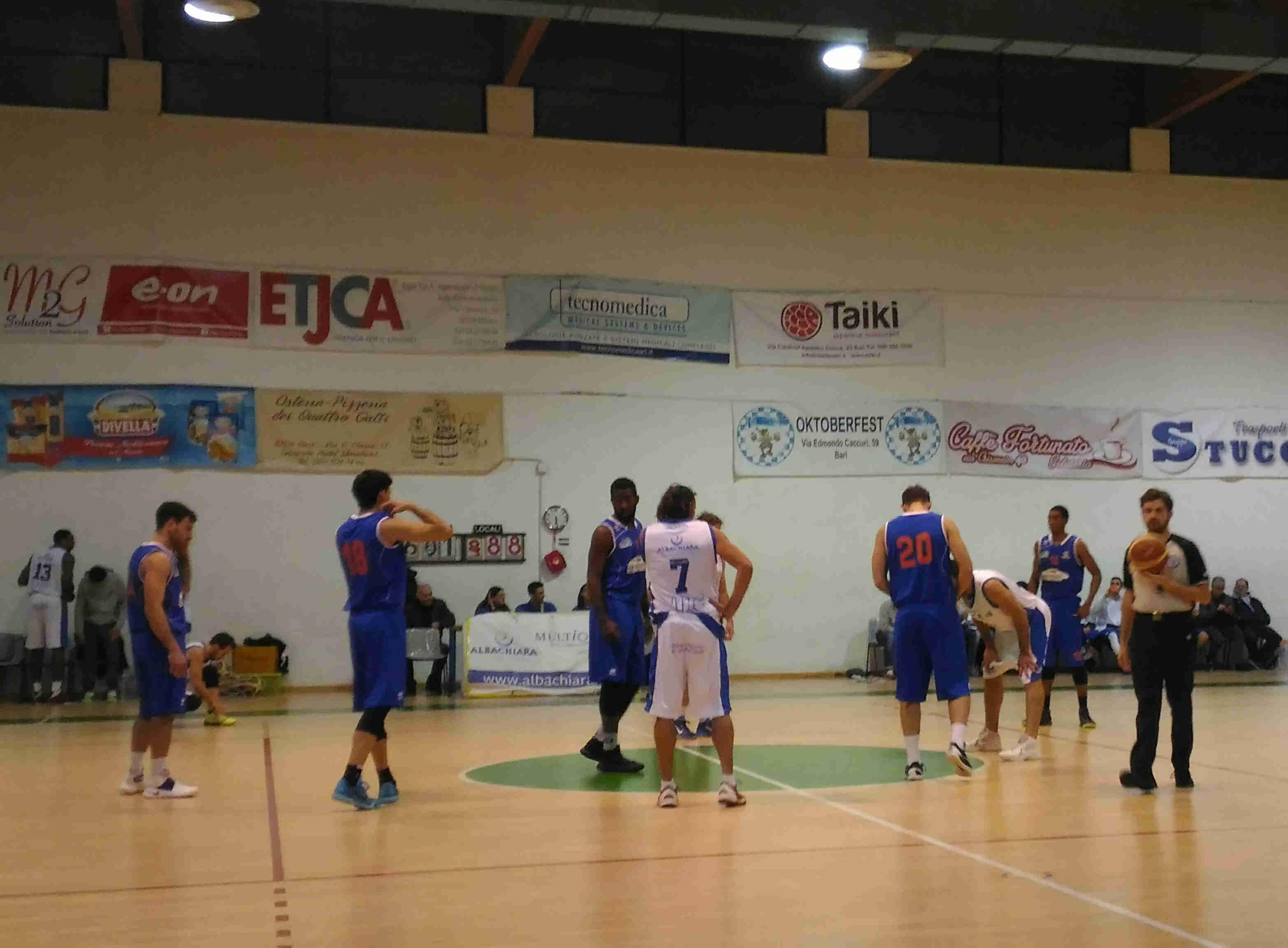 Serie C Silver Puglia 2016-17: finalmente la vittoria per il Valle D'itria Bk Martina che espugna il campo della Pallacanestro Adria Bari