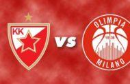 Euroleague 2016-17: Milano attesa all'esame Stella Rossa Belgrado