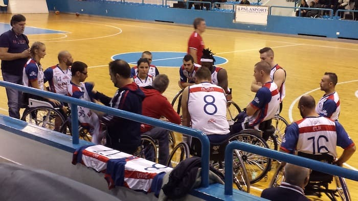 Basket in carrozzina #SerieA1Fipic 2016-17: la capolista GSD 4v Mori Porto Torres attende la S.Stefano Banche Marche