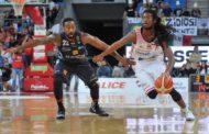 Legabasket A 2016-17: una concreta Dolomiti Energia spegne le velleità di vittoria della Consultinvest