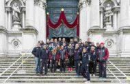 Lega A - Lega Femminile A1 2016-17: la Reyer Venezia in pellegrinaggio alla Basilica della Madonna della Salute a Venezia