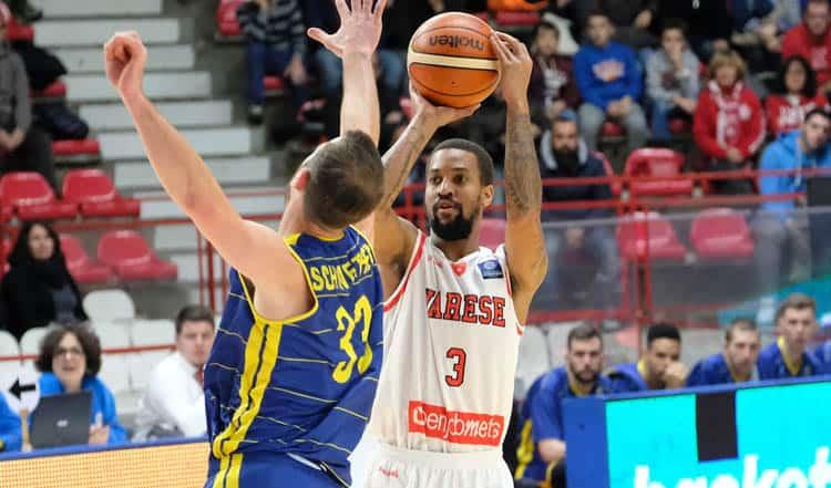 FIBA Champions League 2016-17: Varese ritrova il sorriso battuto EWE Baskets Oldenburg 76-71