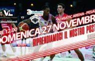 Legabasket A 2016-17: Consultinvest Pesaro e Dolomiti Energia Trento cercano un rilancio per la stagione
