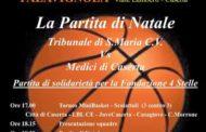 Lega A 2016-17: sabato 10 dicembre sfida di beneficenza a Caserta e festa di Natale della pallacanestro