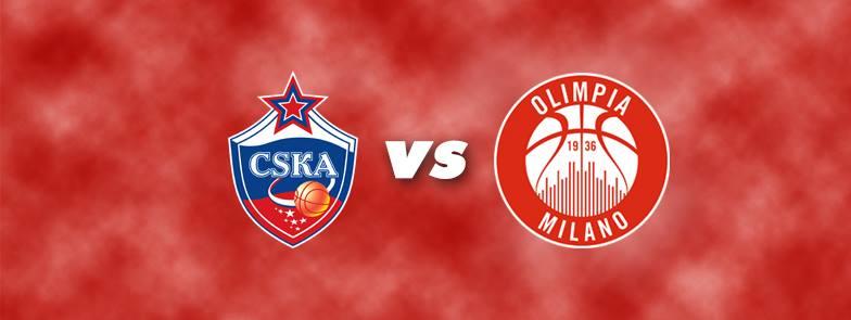 Euroleague 2016-17: l'EA7 Olimpia Milano nella tana dei campioni in carica del CSKA Mosca