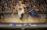 NBA 2016-17: nella notte del 1 Febbraio dura solo 3 secondi la parità degli Hornets