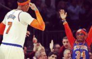 NBA 2016-17: nella notte NBA del 12 Febbraio Carmelo Anthony trascina i Knicks alla vittoria