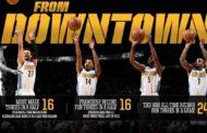 NBA 2016-17: nella notte NBA del 13 Febbraio pioggia di triple nella vittoria dei Nuggets sui Warriors
