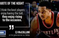 NBA 2016-17: nella notte NBA del 7 Febbraio CJ McCollum regala la vittoria all'ultimo secondo ai Blazers
