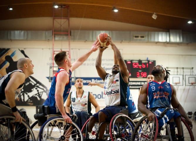 Basket in carrozzina #SerieA1Fipic 2016-17: il #BigMatch è della GSD 4 Mori Porto Torres che espugna anche il campo della UnipolSai Briantea84