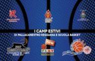 Lega A PosteMobile 2016-17: tutto quello che c'è da sapere sui camp estivi della Pallacanestro Reggiana