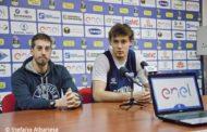 Lega A PosteMobile 2016-17: in casa New Basket Brindisi l'Assistant Coach Esposito e Donzelli presentano l'ostica trasferta di Torino (Video)