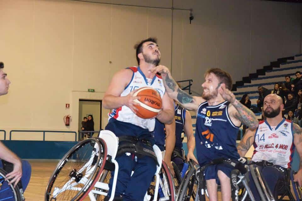 Basket in carrozzina #SerieA1Fipic 2016-17: GSD 4 Mori ad un passo dal 1° posto definitivo in classifica se batte sabato 25 febbraio PMB