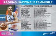 Nazionale 2016-17: Italbasket Rosa in raduno dal 26-28 febbraio a Montegrotto Terme