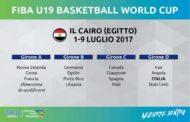 FIBA Mondiali U19M 2017: sorteggio effettuato stamane per Italbasket che affronterà Iran, Mali e USA