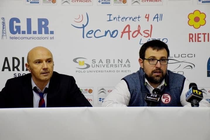 A2 Citroen Ovest 2016-17: le dichiarazioni post-gara di NPC Rieti vs TWS Knights Legnano
