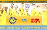 Serie B girone D 2016-17: la capolista XL EXTRALIGHT® riceve Etomilu Giulianova in emergenza