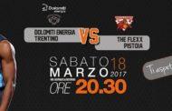 Lega A PosteMobile 2016-17: Trento sfida Pistoia per il treno playoff