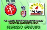 Serie B girone D 2016-17: per Pu.Ma.Trading Taranto vs Al Discount Venafro ingresso libero al PalaMazzola