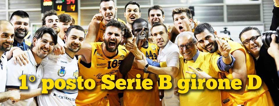 Serie B girone D 2016-17: ultimo match per la capolista XL EXTRALIGHT® Montegranaro in casa vs Olimpia Bawer Matera