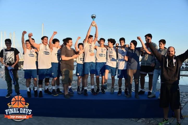 Giovanili 2016-17: Final Days di Puglia di VoloRosa Brindisi, Basket Francavilla e New Basket Brindisi le prime vittorie