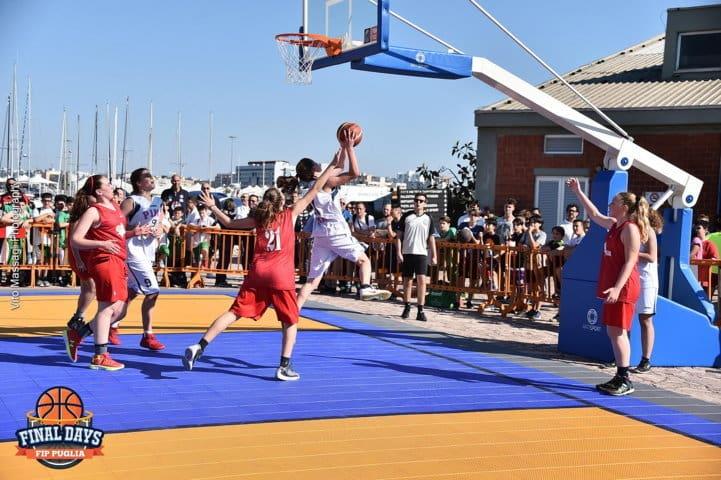 Giovanili 2016-17: la Festa del basket giovanile pugliese conclusasi oggi a Bari in un tripudio di colori