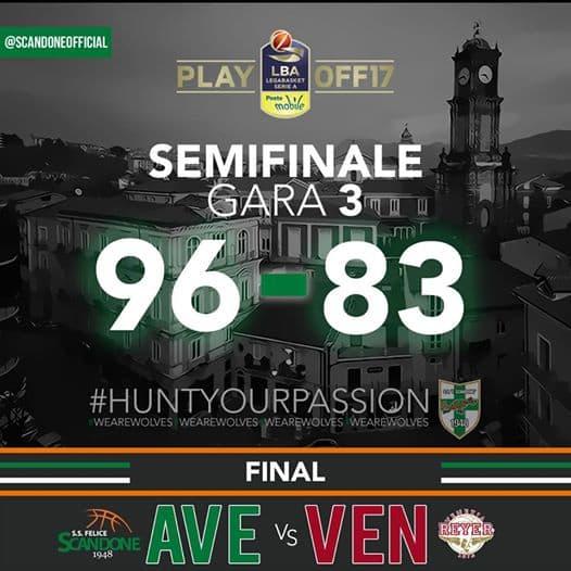 Lega A PosteMobile Semifinali Playoff 2016-17: la Sidigas è infallibile al tiro e vince Gara 3 vs la Reyer Venezia