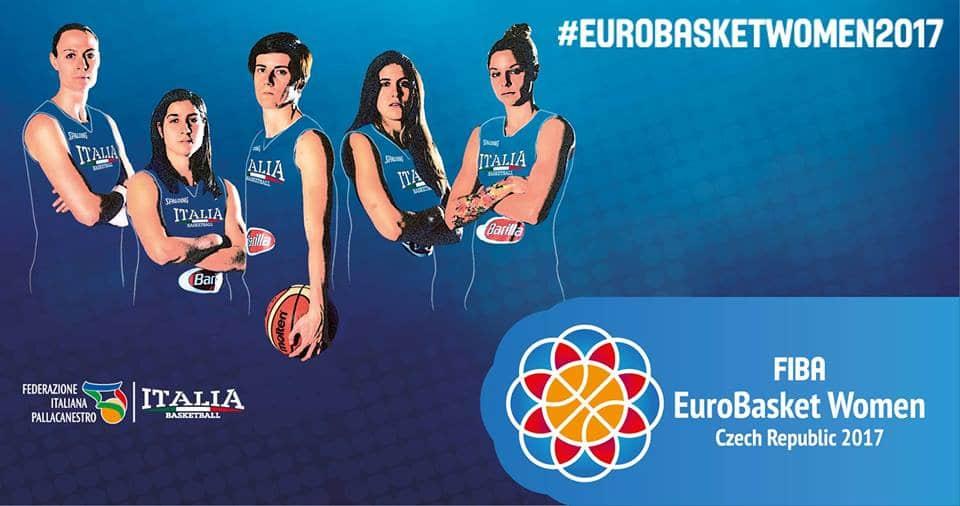 Nazionali 2016-17: domenica 14 parte l'operazione EuroBasket Women 2017 nella Rep. Ceca dal 16-25 giugno
