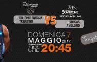 Lega A PosteMobile 2016-17: ultima gara di campionato a Trento per la Sidigas Avellino vs la migliore difesa del torneo