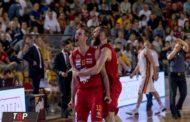 A2 Citroen Playoffs 2016-17: un'ottima OraSì Ravenna sbanca il Palazzetto dello Sport e vola ai quarti sconfiggendo un'encomiabile Unicusano Bum Bum Virtus Roma