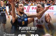Lega A PosteMobile finale scudetto 2016-17: Venezia espugna il PalaTrento e passa a condurre 2-1