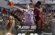 Lega A PosteMobile Finale Scudetto 2016-17: Trento si spegne sul più bello e Bramos regala la vittoria alla Reyer