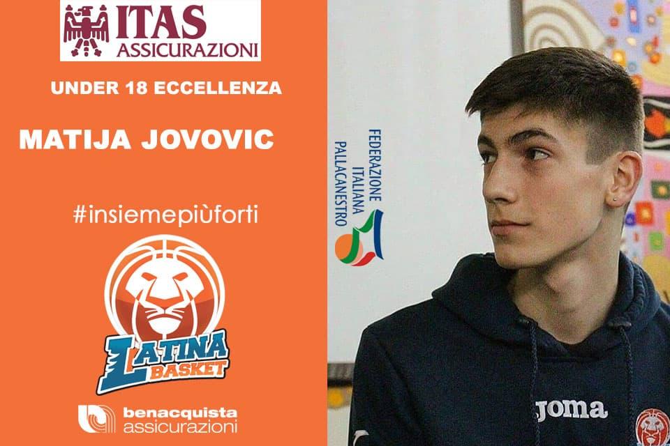 Giovanili 2016-17: intervista ai Giovani Leoni Nerazzurri del Latina Basket parola a Matija Jovovic