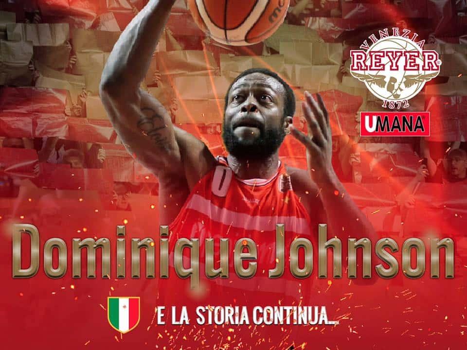 Lega A PosteMobile Mercato 2017-18: l'Umana Reyer Venezia chiude il roster portando in Laguna la guardia-ala Dominique Johnson