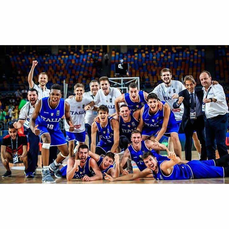 Nazionale 2017-18: la finale del mondiale #FIBAU19 Italia-Canada domani in diretta su Sky