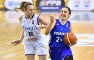 Nazionale 2017-18: agli Europei U20F fatale la Francia che batte 77-61 l'Italia ai quarti di finale