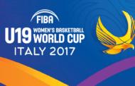 Nazionali 2017-18: domani il via ai #FIBAU19W a Udine le Azzurre al debutto vs la Cina