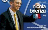 Lega A PosteMobile Mercato 2017-18: Nicola Brienza è il nuovo primo assistente di coach Di Carlo ad Orlandina