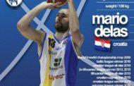 Lega A PosteMobile Mercato 2017-18: arriva la conferma di Mario Delas all'Orlandina Basket