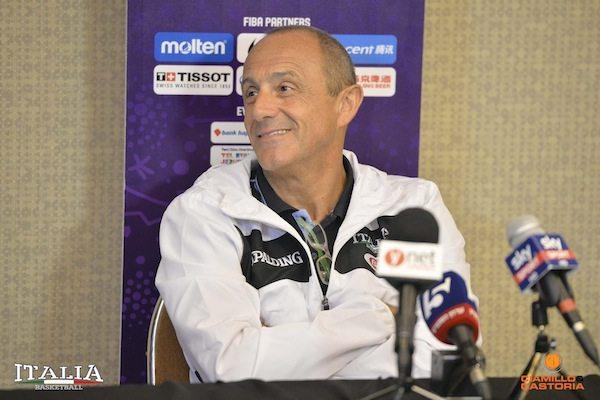 Road to Eurobasket 2017: Fip, alla vigilia dell'esordio con Israele hanno parlato Petrucci, Messina e Datome
