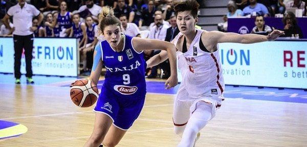 A2 femminile mercato 2017-18: Martina Fassina tra Nazionale e la conferma nelle Lupebasket