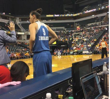 WNBA 2017-18: Cecilia Zandalisini esordio con vittoria con le Minnesota Liynx