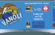 Lega A PosteMobile 2017-18: i biglietti per Vanoli Cremona-EA7 Milano del 1 ottobre