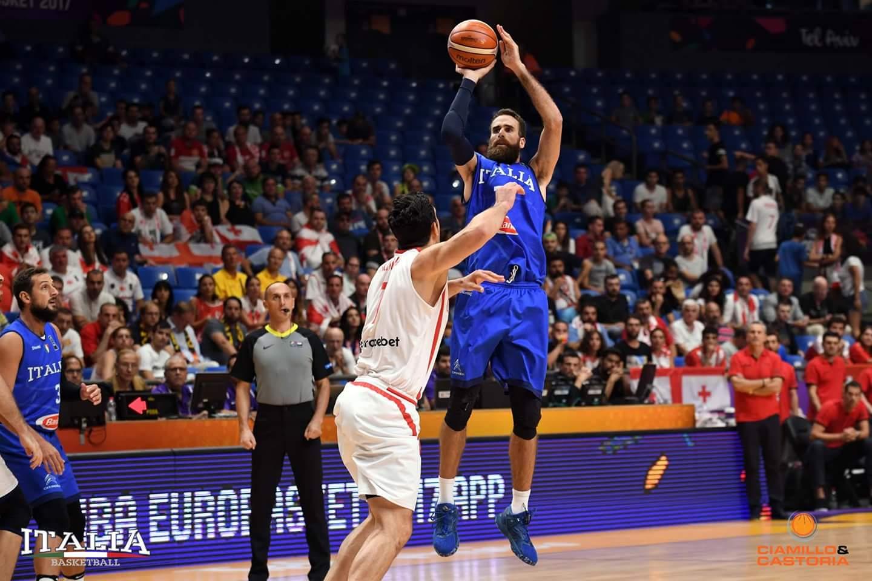 Eurobasket 2017: Italia sprecona, ma finisce terza nel girone. Georgia stoppata da Datome.