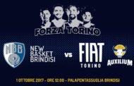 Lega A PosteMobile 2017-18: la FIAT Torino a Brindisi per la prima di campionato emozioni e sensazioni del Presidente Forni e Renato Nicolai