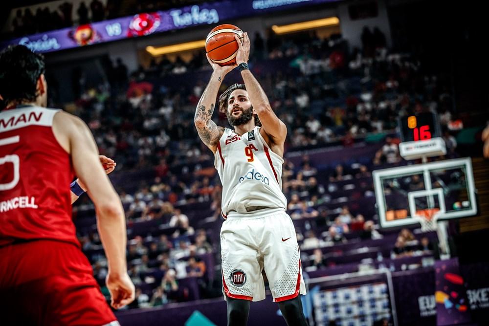 EuroBasket 2017: una Spagna quasi in pantofole non si fa intenerire dalla Turchia senza Dixon e passa ai quarti vincendo 73-56