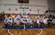 Basket in carrozzina Giovanili 2017-18: la Supercoppa giocata a San Marino è per la 10^ volta dell'UnipolSai Briantea84