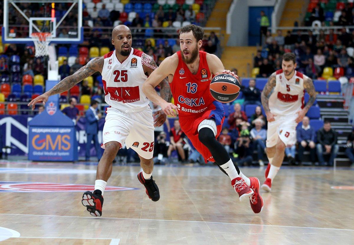 Turkish Airlines Euroleague 2017-18: il CSKA Mosca batte una buona Milano