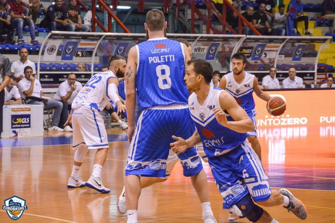 A2 Ovest 2017-18: in video i numeri della prima vittoria in campionato della Leonis Eurobasket Roma a Napoli