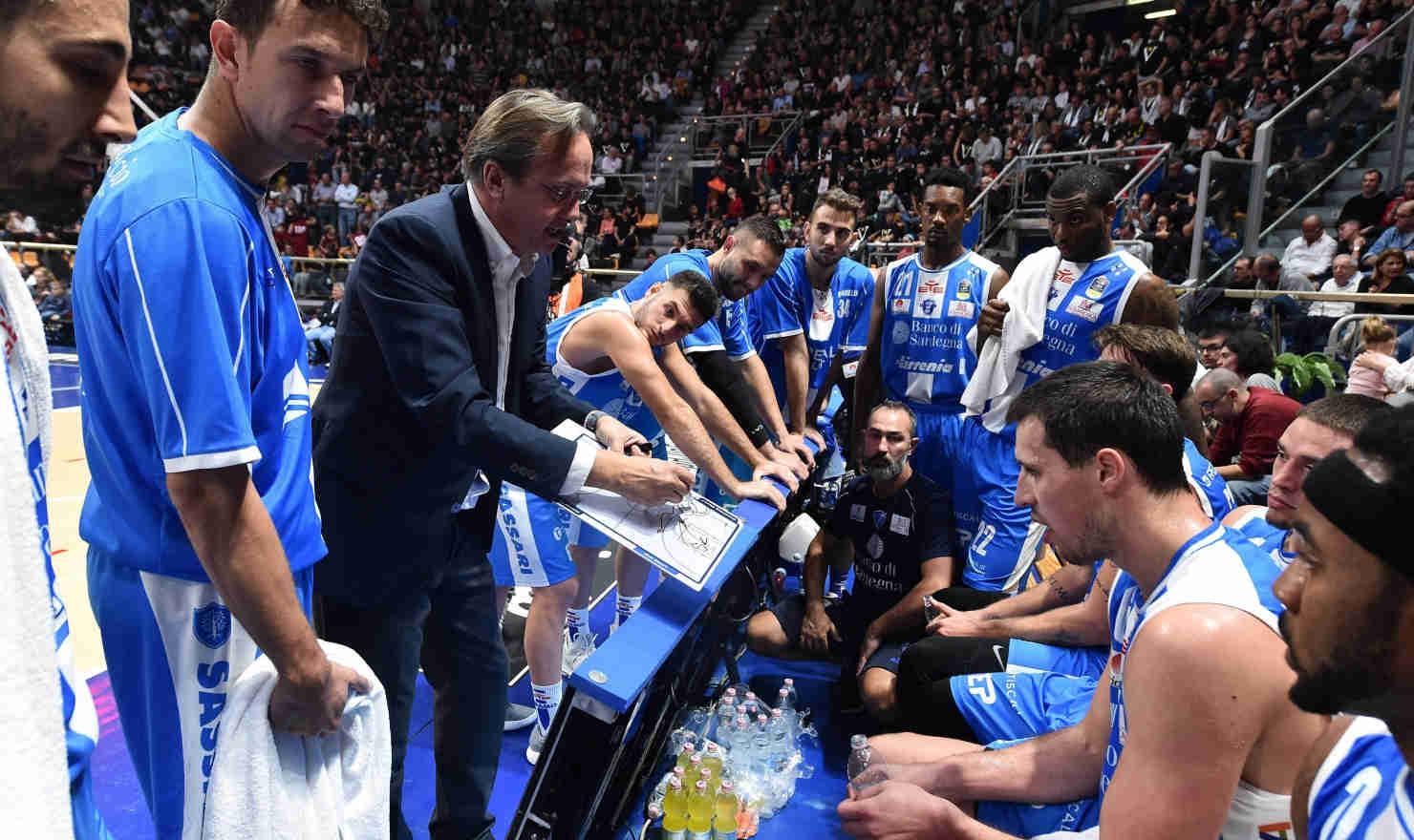 Lega A PosteMobile 2017-18: a Sassari si dimette Federico Pasquini da Head Coach per ricoprire il ruolo di General Manager